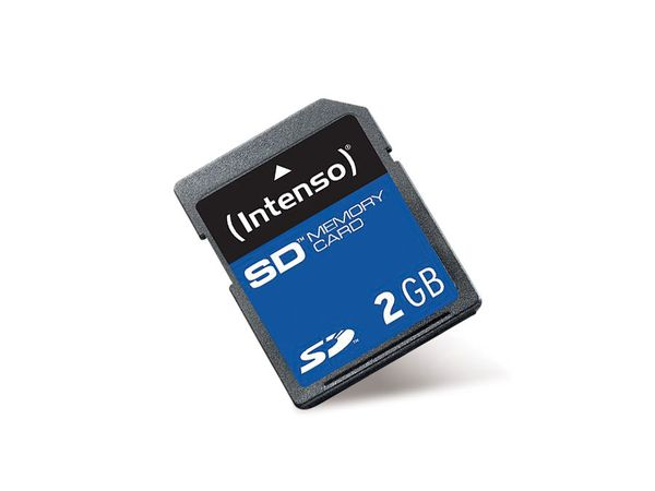 SD Card, 2 GB, INTENSO - Produktbild 1