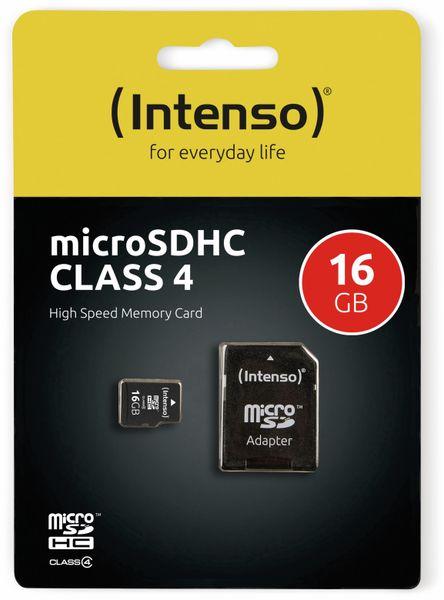MicroSDHC Card INTENSO, 16 GB - Produktbild 2