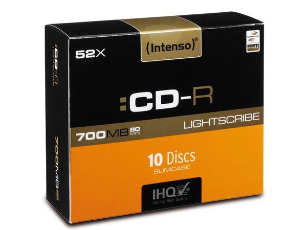CD-R Slim Case Intenso (LightScribe)