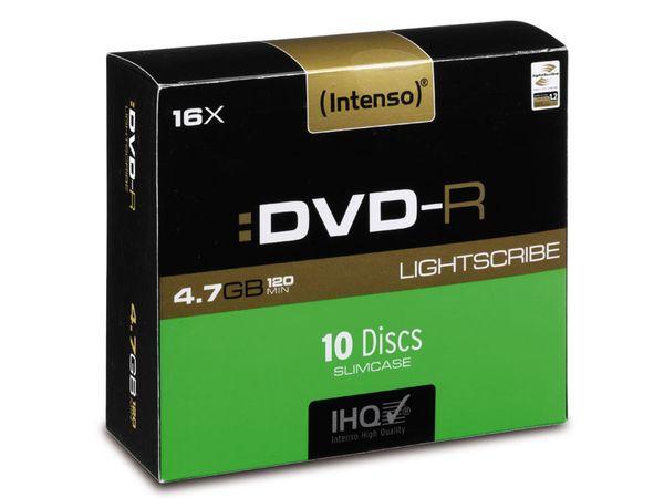 DVD-R INTENSO (LightScribe) Slim Case