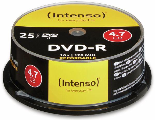 DVD-R Spindel INTENSO, 25 Stück