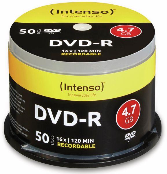 DVD-R Spindel INTENSO, 50 Stück