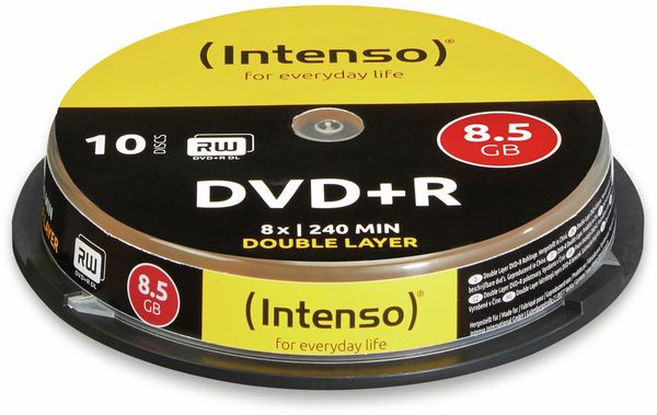 DVD+R Spindel Intenso (DoubleLayer)