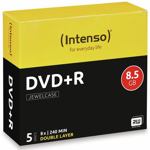 DVD+R Intenso Jewel Case (DoubleLayer)