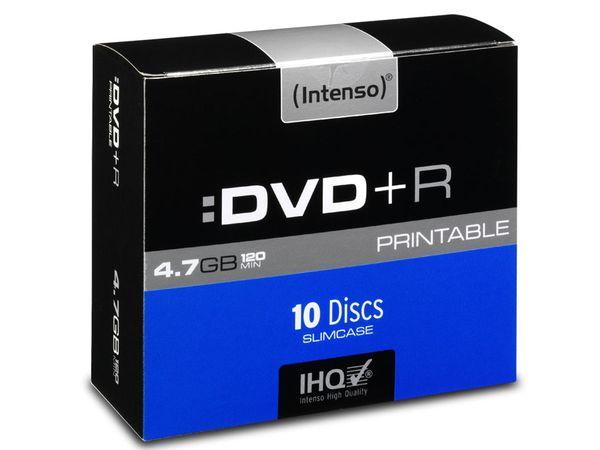 DVD+R Intenso Slim Case (bedruckbar)