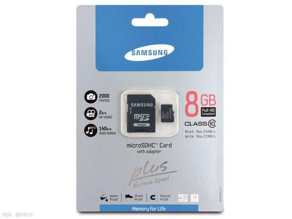 micro SDHC Card SAMSUNG MB-MPAGA/EU, 16 GB