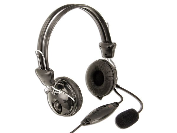 USB Gaming-Headset GEMBIRD MHS-200-USB - Produktbild 1