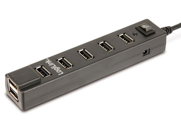 USB 2.0-Hub LOGILINK UA0124, 7-Port