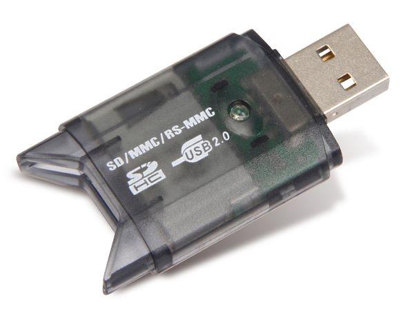USB 2.0 Cardreader SD/SDHC/MMC - Produktbild 1