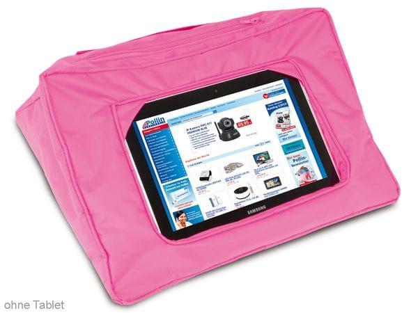 Tablet-Kissen, pink - Produktbild 1