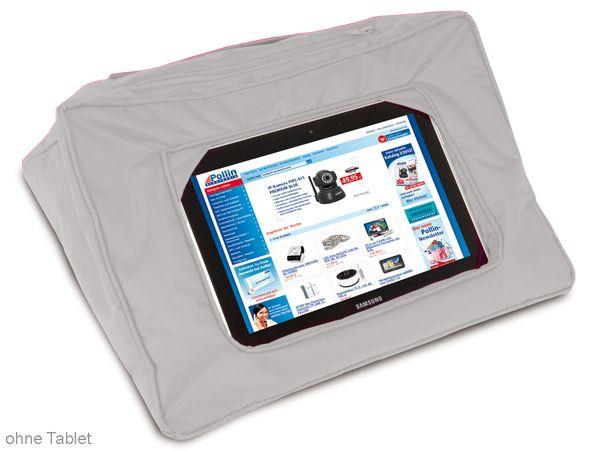 Tablet-Kissen, grau - Produktbild 1