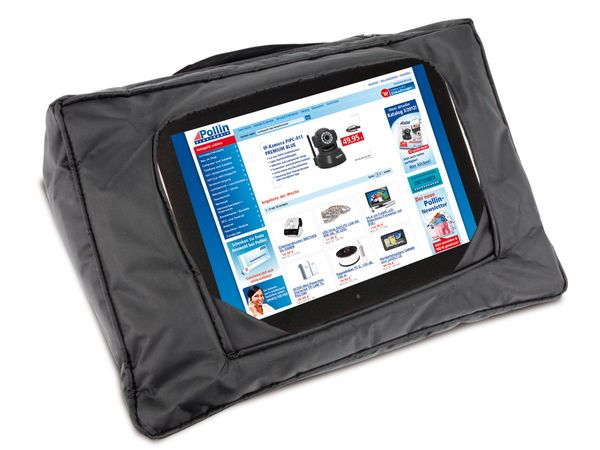 Tablet-Kissen, schwarz - Produktbild 1