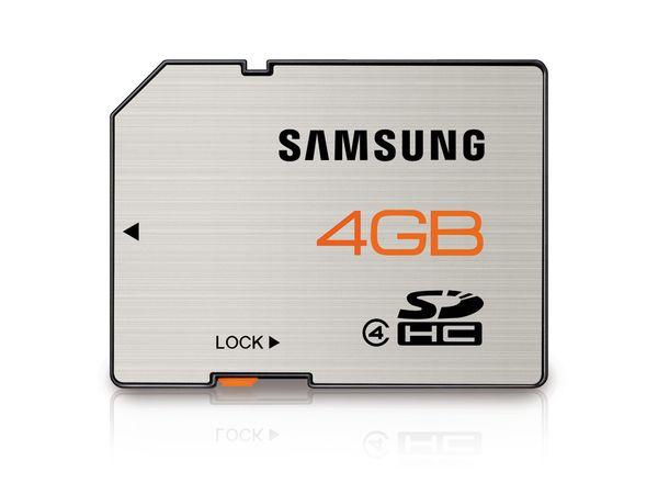 SDHC Card, 4 GB, SAMSUNG Essential MB-SS4GA - Produktbild 1