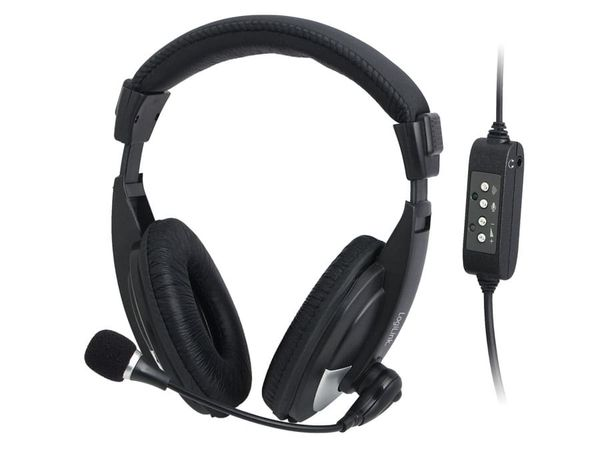 USB Multimedia-Headset LOGILINK HS0019