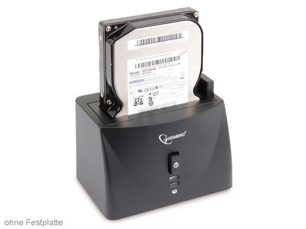 HDD-Dockingstation GEMBIRD HD32-U2S-2, USB2.0/SATA - Produktbild 1