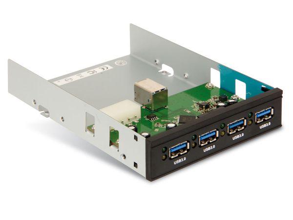 4-port USB 3.0-Hub, aktiv, intern - Produktbild 1