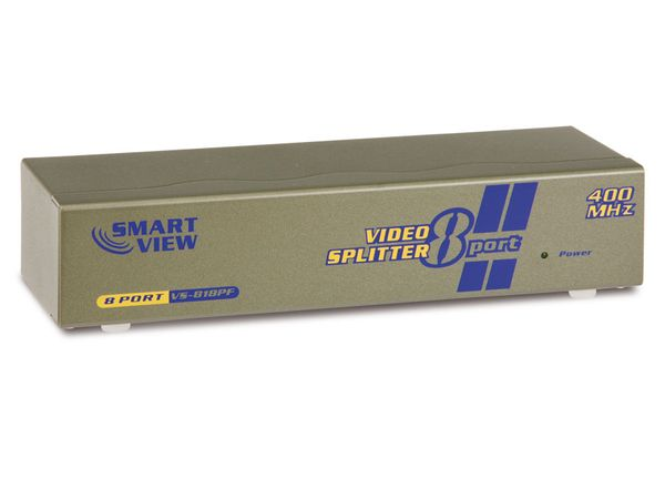 Video Splitter SMARTVIEW VS-818PF, 8-Port - Produktbild 1