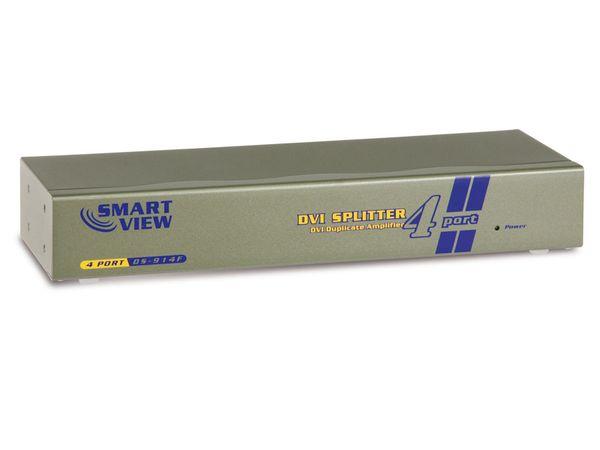 DVI-Splitter SMARTVIEW DS-914F, 4-Port - Produktbild 1