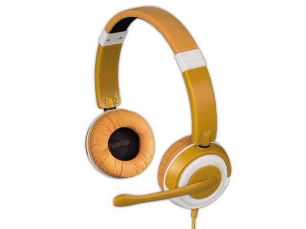 Multimedia-Headset HAMA Dispersion, orange - Produktbild 1