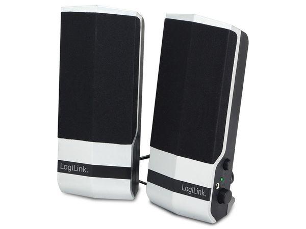 Computer-Lautsprecher LOGILINK SP0026, silber/schwarz, USB-Power