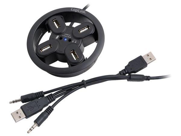 USB 2.0-Einbauhub LOGILINK UA0159