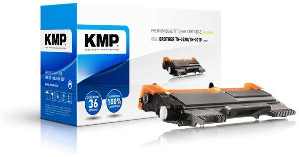 Toner KMP, kompatibel für Brother TN-2220/TN-2010, schwarz