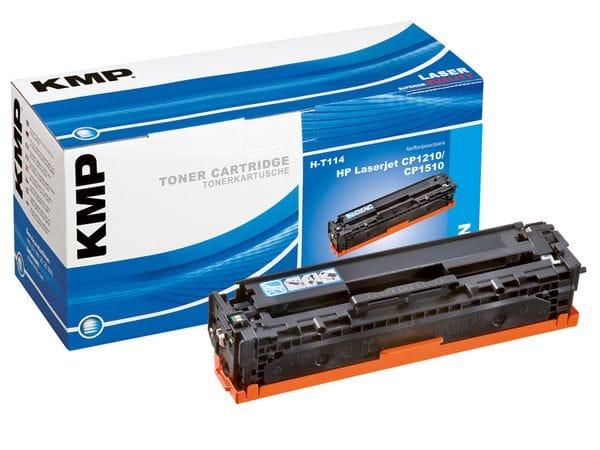 Toner KMP, kompatibel für HP 125A (CB541A), cyan