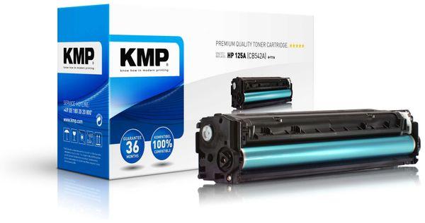 Toner KMP, kompatibel für HP 125A (CB542A), gelb