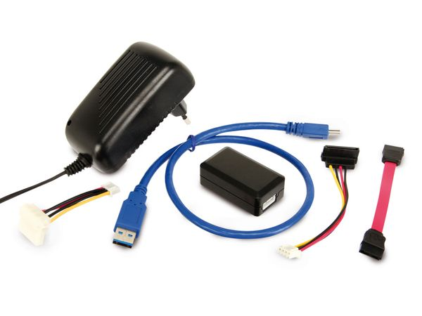 USB 3.0 zu SATA/IDE Adapter LOGILINK AU0028A - Produktbild 3
