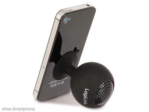 Multimedia-Lautsprecher LOGILINK SP0029 Iceball, schwarz - Produktbild 3