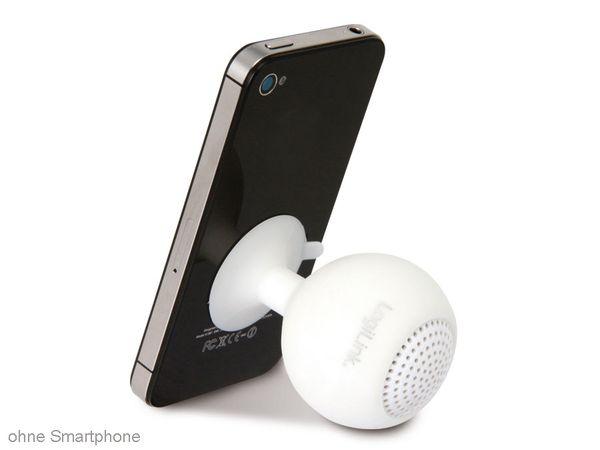 Multimedia-Lautsprecher LOGILINK SP0030 Iceball, weiß - Produktbild 3