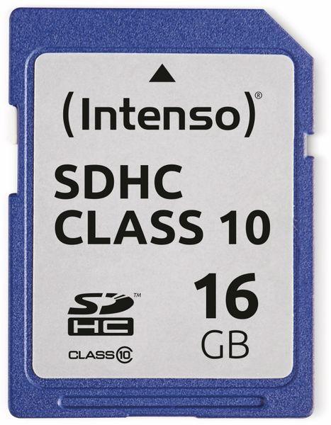 SDHC Card INTENSO 3411470, 16 GB, Class 10