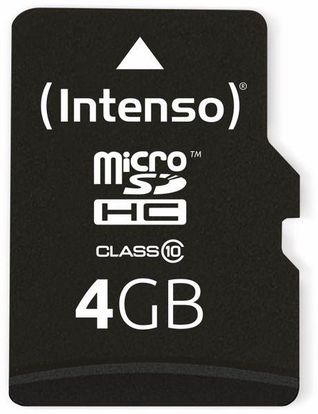 MicroSDHC Card INTENSO 3413450, 4 GB - Produktbild 1