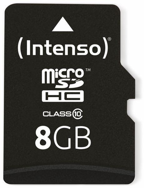 MicroSDHC Card INTENSO 3413460, 8 GB - Produktbild 1
