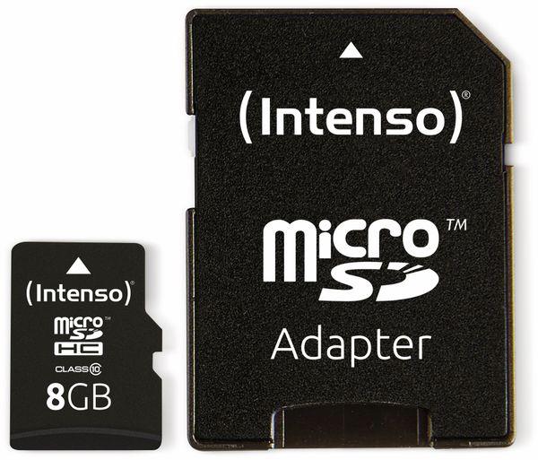 MicroSDHC Card INTENSO 3413460, 8 GB - Produktbild 3