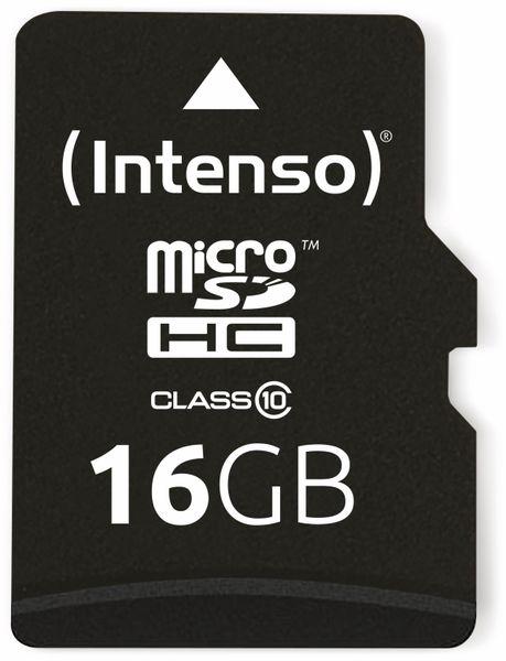 MicroSDHC Card INTENSO 3413470, 16 GB - Produktbild 1