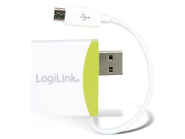 USB 2.0 Hub mit Micro-USB Abzweigkabel - Produktbild 2