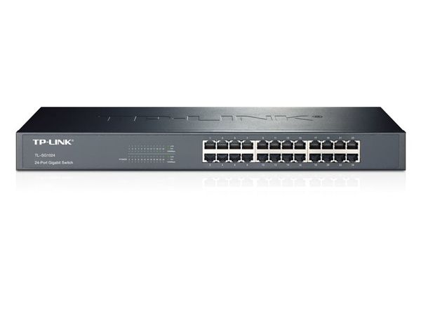 Gigabit Netzwerk-Switch TP-LINK TL-SG1024, 24-Port