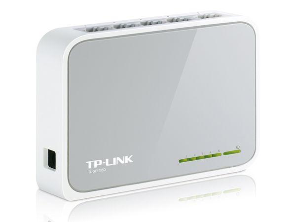 Netzwerk-Switch TP-LINK TL-SF1005D, 5-Port - Produktbild 1