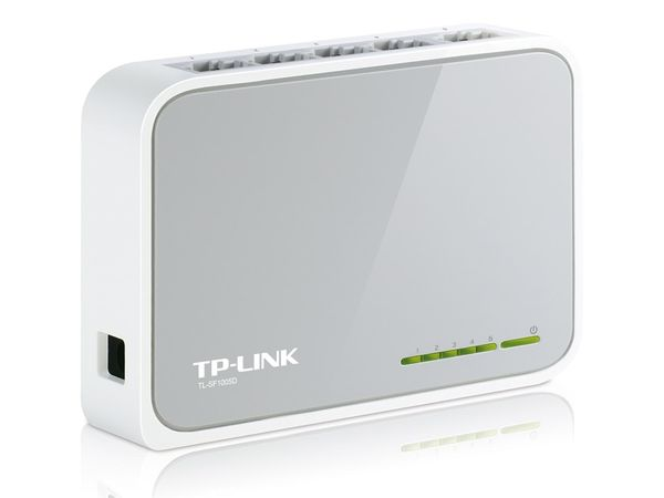 Netzwerk-Switch TP-LINK TL-SF1005D, 5-Port