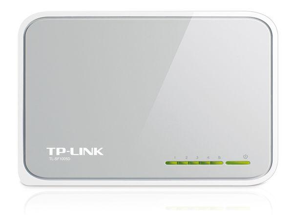 Netzwerk-Switch TP-LINK TL-SF1005D, 5-Port - Produktbild 2