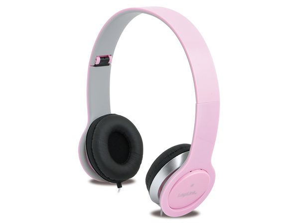 Multimedia-Headset LogiLink HS0032, pink