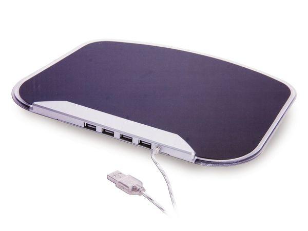 Mouse-Pad mit USB-Hub GEMBIRD UHB-MP-224