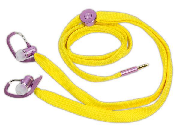 In-Ear Headset TYPHOON UniqueLace TM020 - Produktbild 1