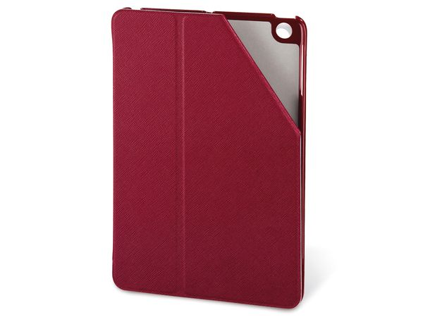 iPad mini Klappetui mit Standfunktion, HAMA Portfolio, rot - Produktbild 1
