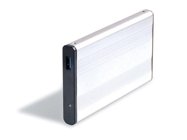 """6,35 cm (2,5"""") Festplatten-Gehäuse, USB 3.0 zu SATA, RED4POWER"""
