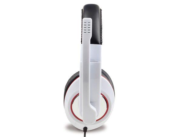 Multimedia-Headset GEMBIRD MHS-001-GW, weiß - Produktbild 3
