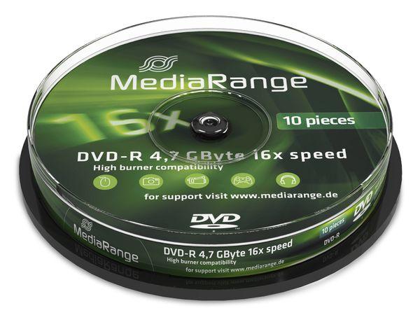 DVD-R Spindel MediaRange
