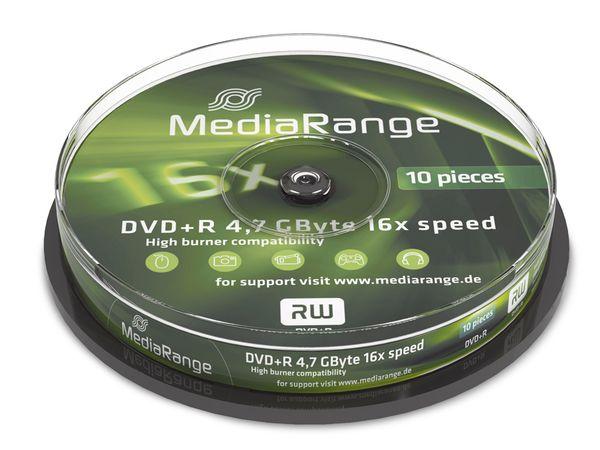 DVD+R Spindel MediaRange