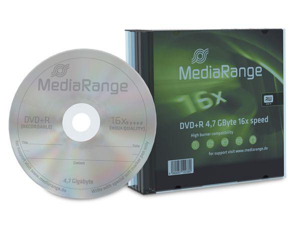 DVD+R MediaRange Slim Case
